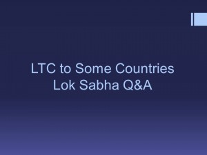 LTC to Some Countries