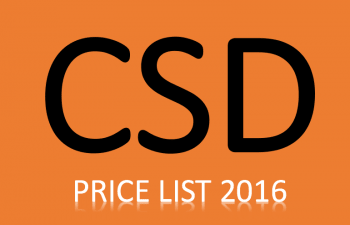 CSD PRICE LIST