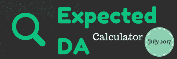 EXPECTED DA CALCULTOR JULY 2017