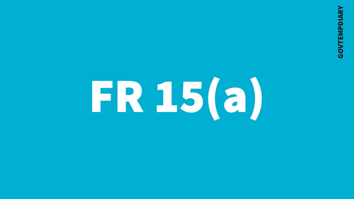 FR 15A