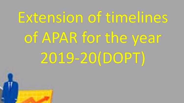 APAR for 2019-20