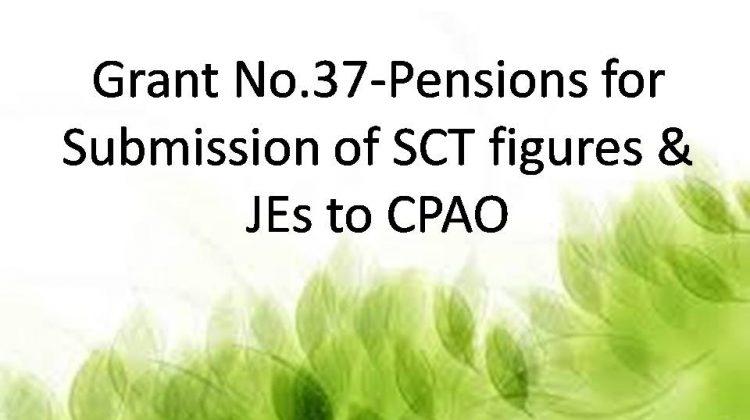 Grant No.37-Pension