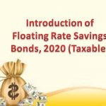 Introduction of Floating Rate Savings Bonds 2020
