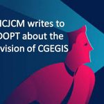 NCJCM writes to DOPT about the revision of CGEGIS
