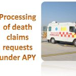 Processing of death claims requests under APY