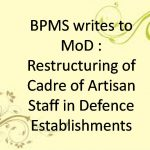 Restructuring of Cadre of Artisan Staff