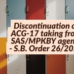 Discontinuation of ACG-17 taking from SAS_MPKBY agents - S.B. Order 26_2020