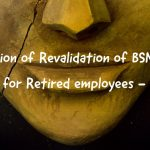 Extension of Revalidation of BSNL