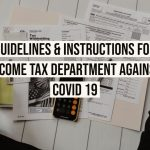 Guidelines & Instructions for Income tax Department against Covid 19