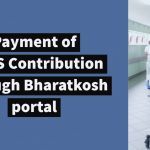 Payment of CGHS Contribution through Bharatkosh portal