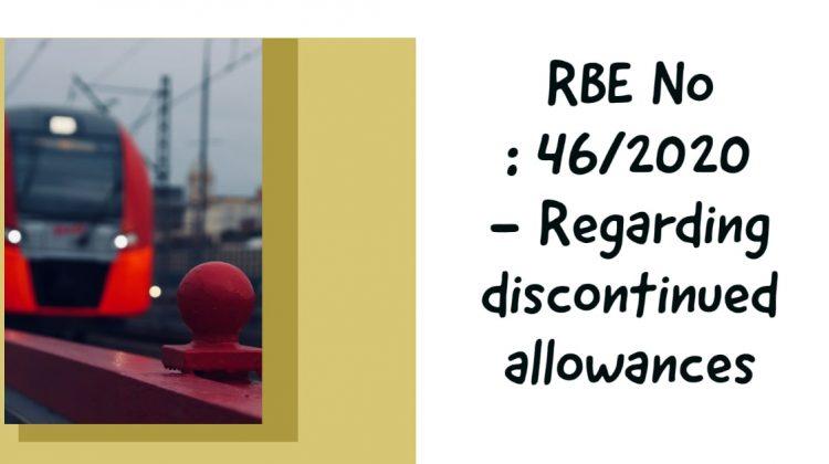 RBE No _ 46_2020 - Regarding discontinued allowances