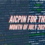 AICPIN for the month of July 2020