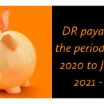 DR payable for the period August 2020 to January 2021 - IBA