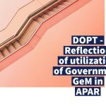 DOPT - Reflection of utilization of Government GeM in APAR