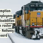 Exemption of employees with disabilities from roster duty - Railway Board