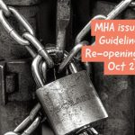 MHA issues new Guidelines for Re-opening til 31st Oct 2020