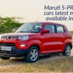 Maruti S-PRESSO cars latest models available in CSD