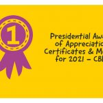 Presidential Award of Appreciation Certificates & Medals for 2021 - CBIT