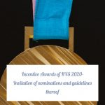 Incentive Awards of KVS 2020- Invitation of nominations and guidelines thereof