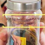 SOP for handling of PLI_RPLI Loan cases