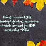 Clarification on ECHS membership_refund of contribution deducted_ recovered for ECHS membership -DESW