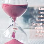 Extending timeline to submit Life Certificate by Central Government pensioners from 1st Nov, 2020 to Feb 28,2021