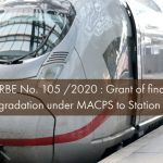 RBE No. 105 2020 - Grant of financial upgradation under MACPS to Station Masters