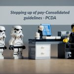Stepping up of pay-Consolidated guidelines - PCDA