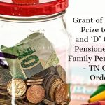 Grant of Pongal Prize to 'C' and 'D' Group Pensioners_All Family Pensioners - TN Govt Order