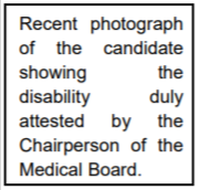Form-II: Disability Certificates Format